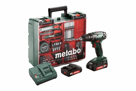 Metabo BS 18 Workshop sett