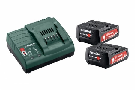 Metabo Batteri basis-sett 12V 2 X 2.0 ah