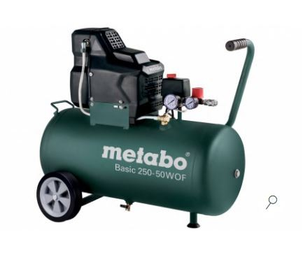Metabo BASIC 250-50 W OF kompressor - oljefri