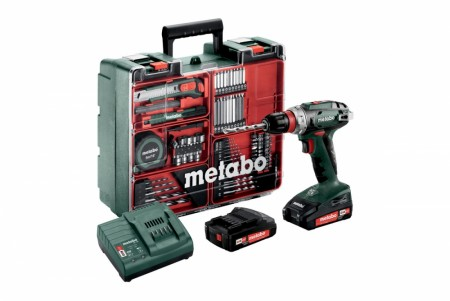 Metabo BS 18 QUICK Workshop sett