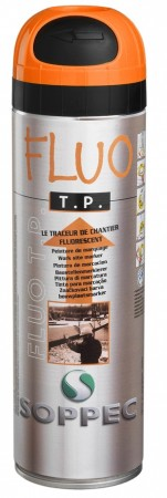 Soppec Fluo TP Proff merkespray, 12 stk Orange
