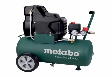 Metabo BASIC 250-24 W OF kompressor - oljefri