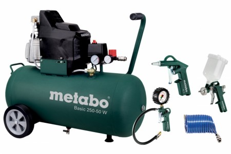Metabo BASIC 250-50 W Kompressor Sett